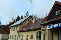 Střecha nádraží po rekonstrukcí opláštění střechy