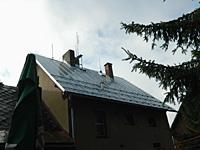 Střecha nádraží po rekonstrukcí opláštění střechy 2