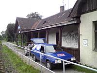 Původní stav před opravou střechy