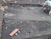 Oprava střechy - Nádraží Chotyně
