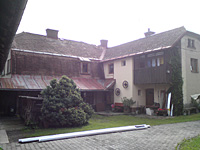 Původní stav střechy