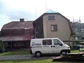 Rekonstrukce střechy RD Koberovy - původní stav