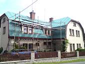 Rekonstrukce střechy RD Koberovy