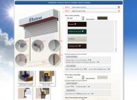 web na míru - konfigurátor rolet do zaomítací schránky