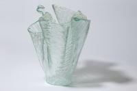 Váza kůra bílá 3D foto